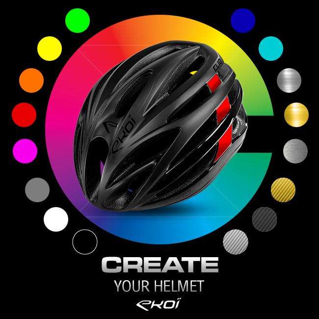 Personalização personalizada EKOI casques vélos
